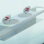 RasterPlan doboztartó 3 db-hoz 70 mm átmérővel